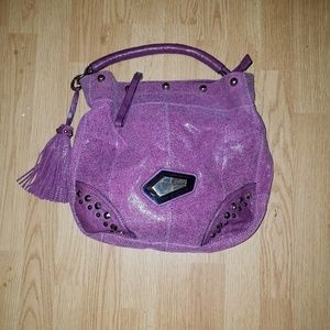 GUESS by Marciano Pink/Purple Bag